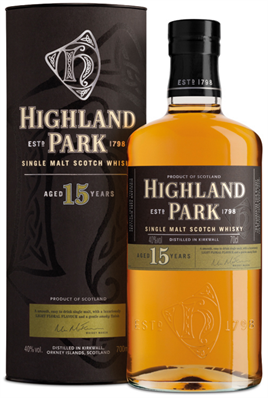 Highland Park Scotch 15 Year